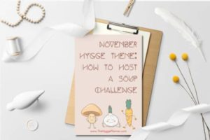 host a soup contest with the hygge planner