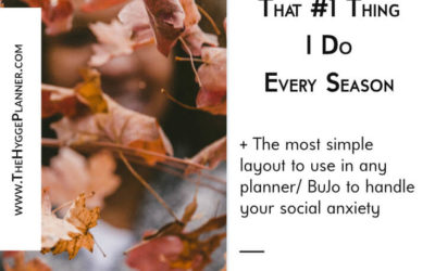 Ep #19: That #1 Delightful Thing I Do Every Season