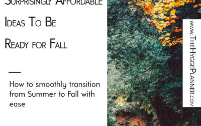 Ep #20: Easy & Affordable Ideas  For Fall
