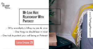 Pinterest and hygge, cosiness and hygge, coziness and hygge, hygge on social media