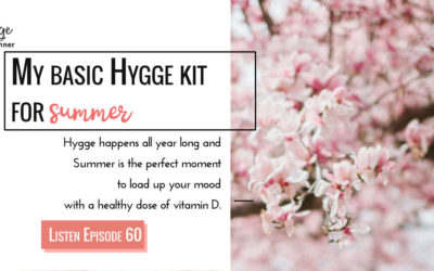 My Summer Hygge Kit On The Go